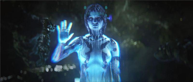 Durante la campaña de Halo 2,¿dónde queda abandonada Cortana?