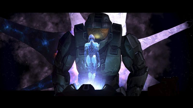 ¿Qué puede verse en la escena final de Halo 3 al completarlo en dificultad legendario?
