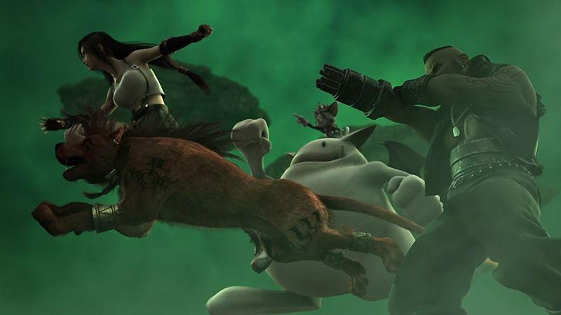 ¿Cuántos personajes podías controlar en la batalla simultáneamente?