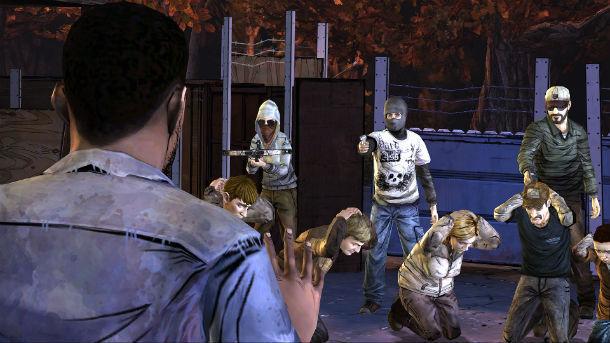 Mientras cazabas unos bandidos te han seguido hasta el motel y han empezado a disparar a todo el mundo. ¿Qué haces?