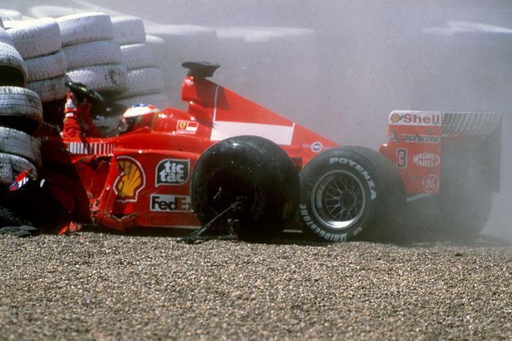 """""""Lo reconozco, el dia que Schumacher se partio las piernas fue el dia mas feliz de mi vida"""