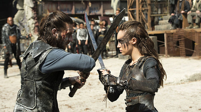 Una serie que se sale un poco de lo normal: The 100