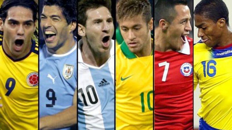 21089 - ¿Quiénes son los máximos goleadores de las selecciones de la Conmebol?