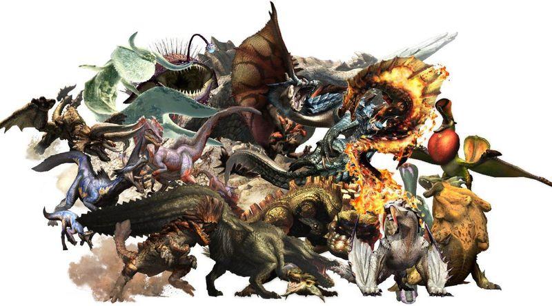 21138 - ¿Te sabes todos los monstruos grandes de Monster Hunter?