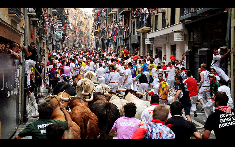 ¿Te gustan las fiestas de San Fermín?