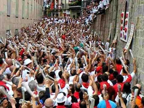 ¿Eres de los que cantan las canciones de San Fermín una y otra vez?