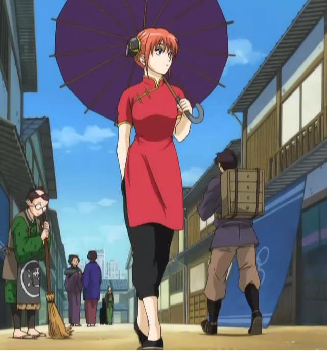 Kagura del anime