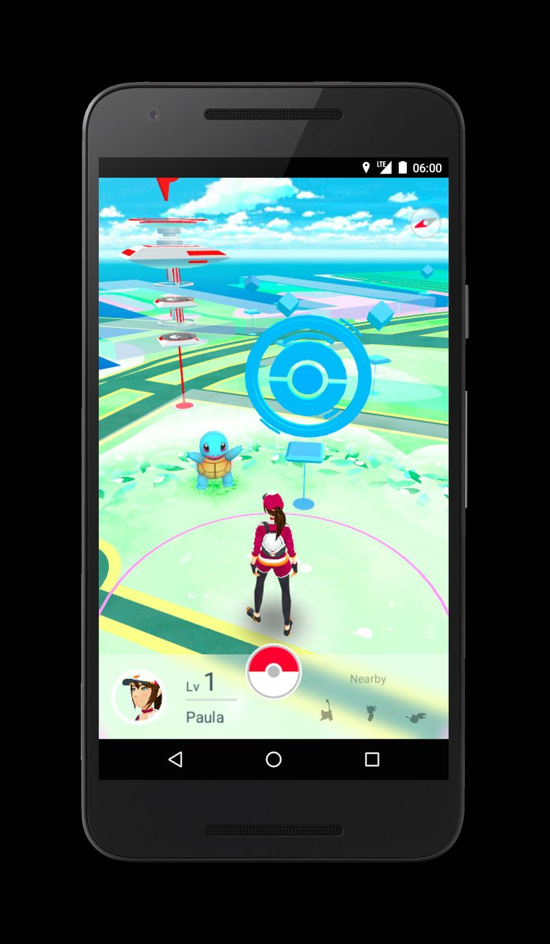 ¿Ya tienes la app de Pokémon GO?