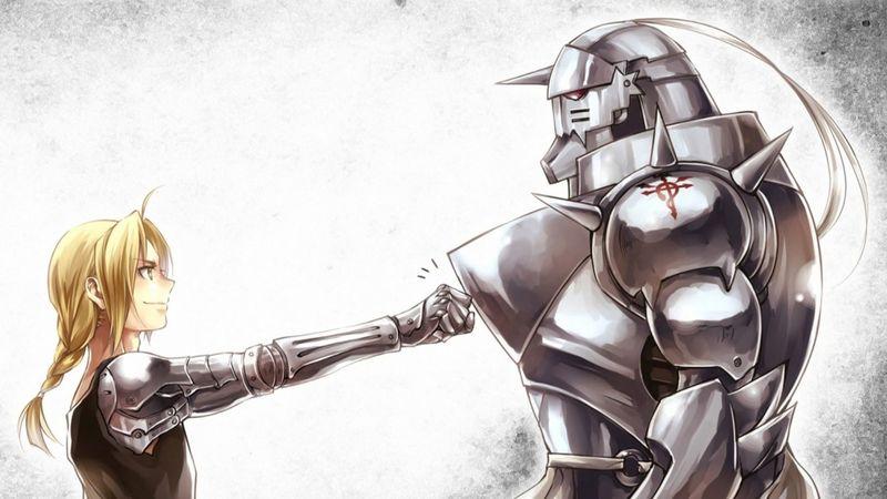 Del anime Full Metal Alchemist vienen los hermanos Elric, elige a uno.