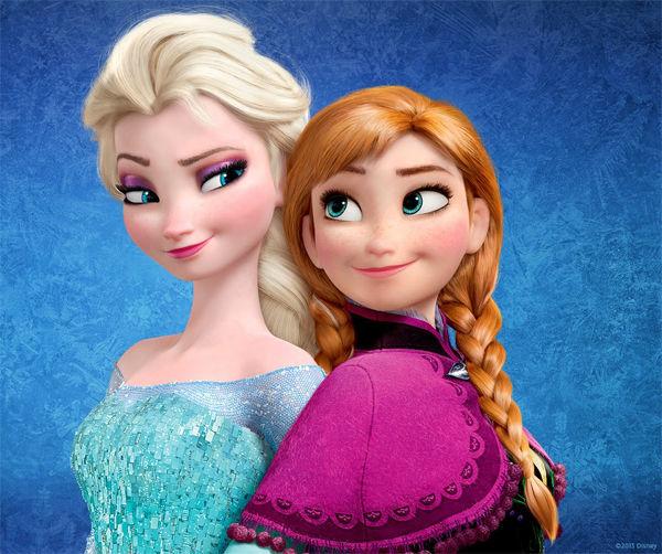 Hermanas, vamos con un par muy actual, aunque admito no haber visto la peli. ¿Cuál de las hermanas de Frozen es tu favorita