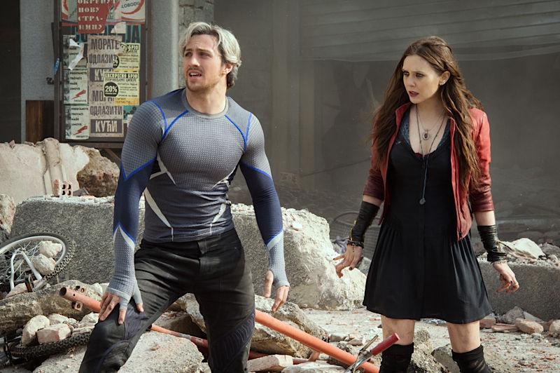 Para acabar, con la segunda película de los vengadores conocimos Quicksilver y a la Bruja Escarlata ¿Qué hermano Maximoff coges?