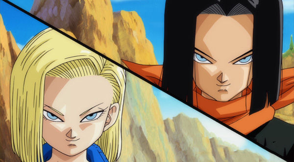 Viendo Dragon Ball encontramos a los hermanos Androide ¿A cuál prefieres?