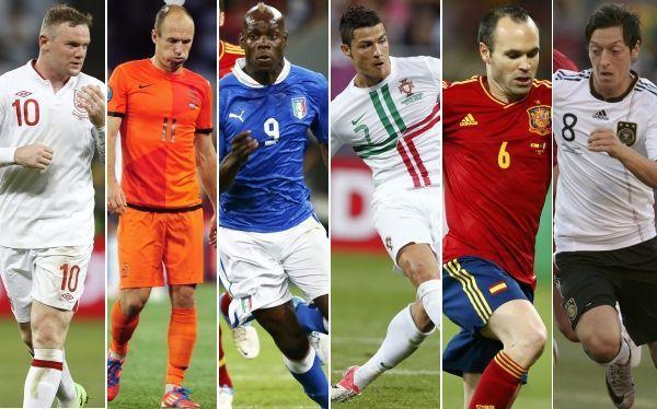 21265 - ¿Quiénes son los máximos goleadores de las selecciones de la UEFA?