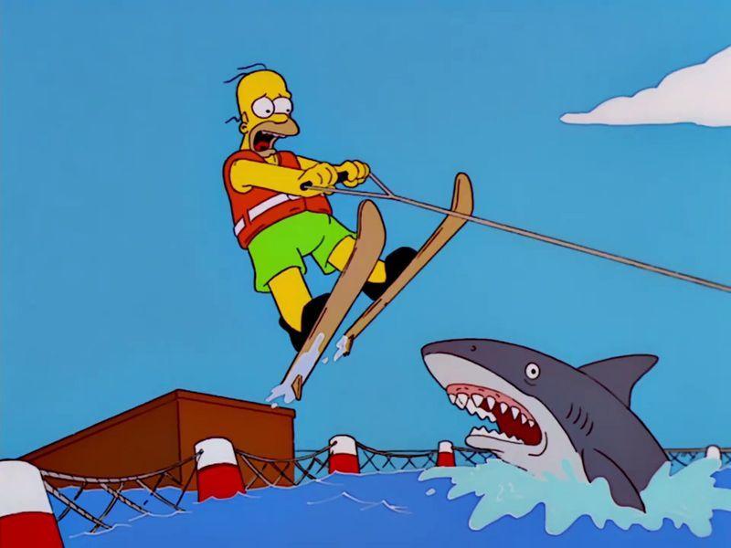 ¿Qué se conoce como saltar sobre el tiburón?