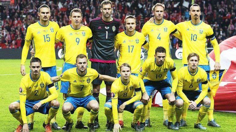 ¿Quién es el máximo goleador de la selección de Suecia?