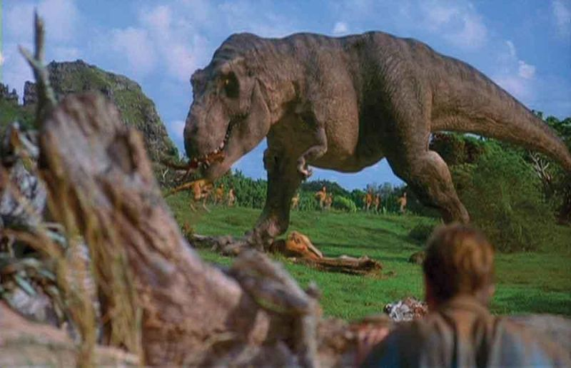 ¿Que personaje de los siguientes no llega a coincidir con el T-Rex?