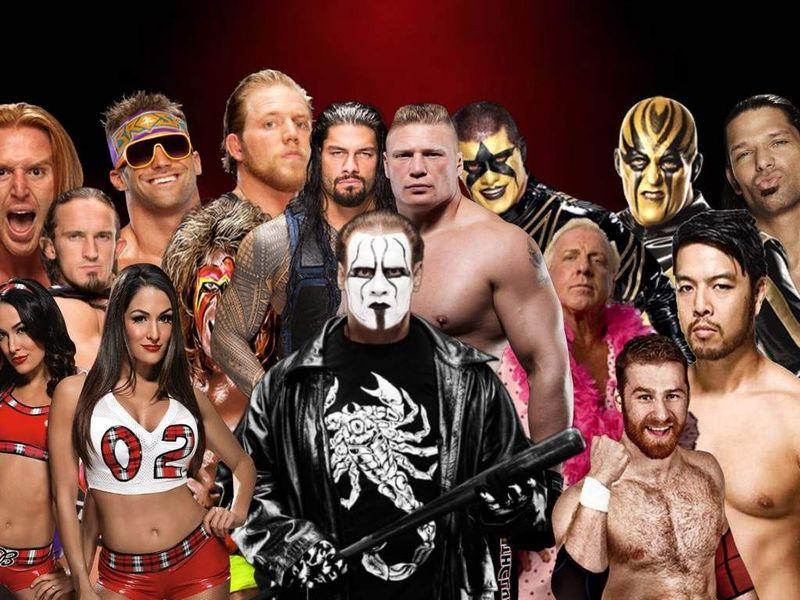 21344 - ¿Quién es más mayor? Versión WWE