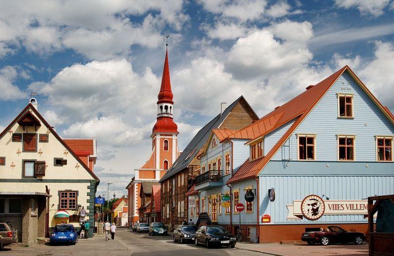 Vamos a Europa Oriental, ¿Dónde se sitúa Pärnu