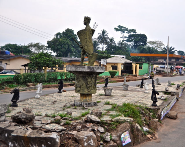 Vamos a la Ciudad de Benin, ¿Dónde se ubica esta ciudad?