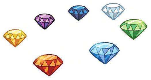 ¿Cuántas esmeraldas Caos había en el juego?