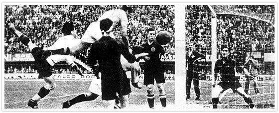En 1934 avanzó hasta 1/4, cayendo frente a...