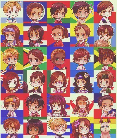21416 - ¿De qué país es este personaje de anime? Parte 2