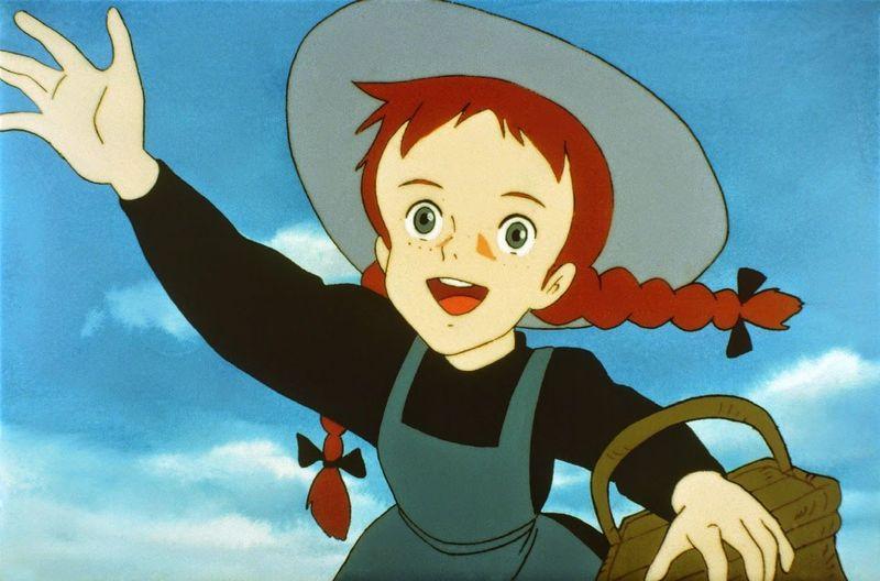 Ana Shirley del anime