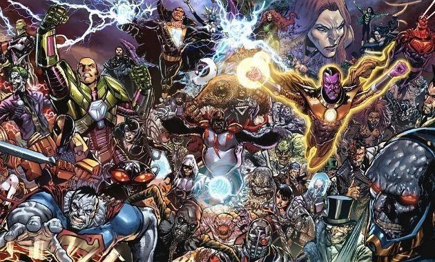 Y un villano para esa película o futuras de la Liga de la Justicia (Ya se ha confirmado que Steppenwolf para esta 1a parte)
