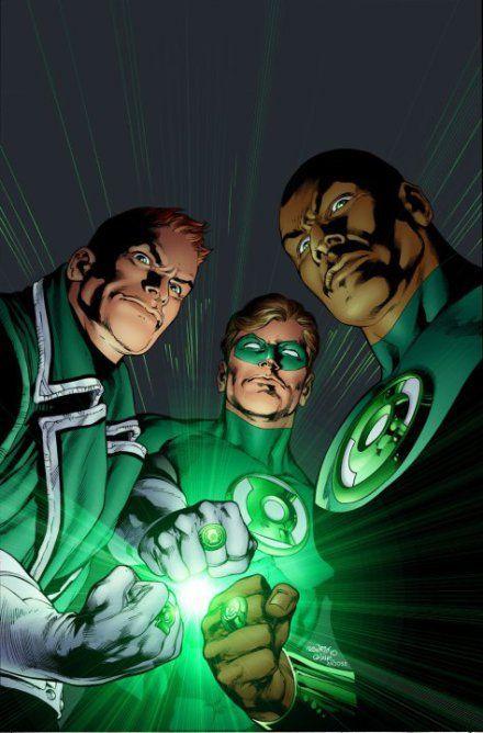 Pasamos a la película de Green Lantern. ¿Quién te gustaría que apareciese?