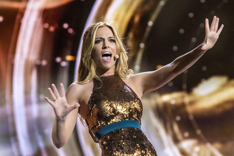 ¿En qué puesto acabó Edurne en Eurovision?