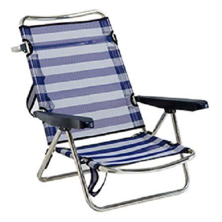 ¿Y esta silla de playa?