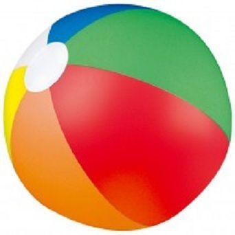 ¿Y esta pelota de playa?
