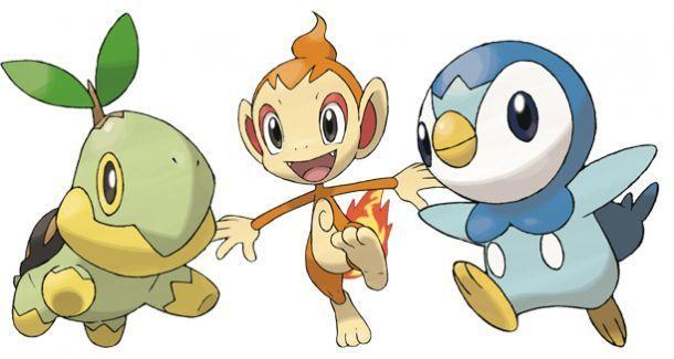 ¿Qué pokémon escogiste (o te gusta más) en la cuarta generación?