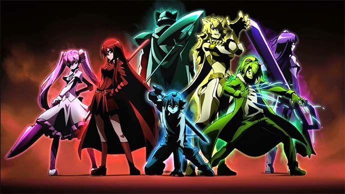 21530 - Personajes de Akame Ga Kill (Nivel: Fácil)