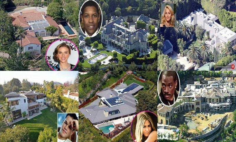 21560 - ¿A qué famosos pertenecen estas casas?