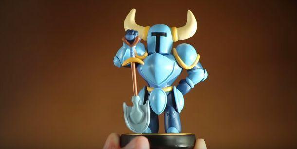 ¿Qué permite hacer el Amiibo de Shovel Knight en el juego?