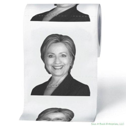 Papel higiénico de Hillary Clinton
