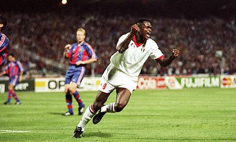 La final entre el Barcelona y el AC Milan (1994) terminó 4-0 a favor del Milán, cuántos goles marcó Daniele Massaro?