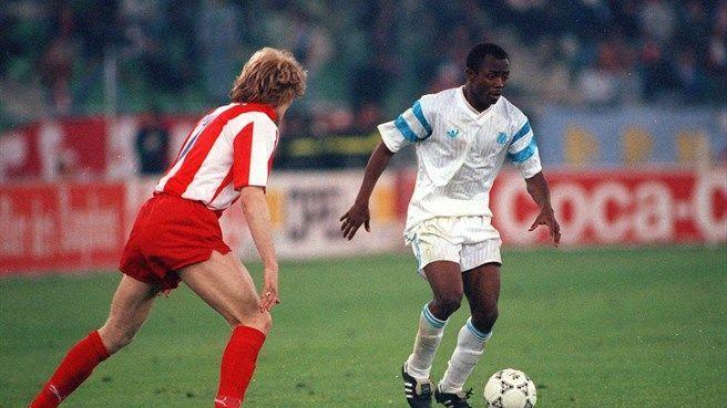 La final de la champions 1990-91 fue disputada entre Estrella Roja y Olympique de Marsella, quién ganó y con qué resultado?