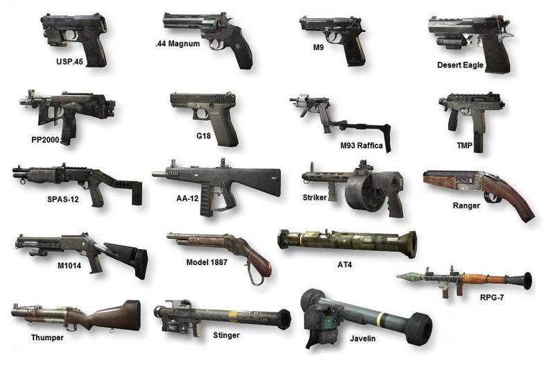 Te escapaste... de momento... vas en busca de un arma, ¿Cual?