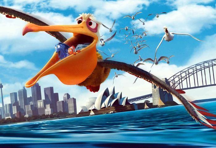 Este ave hace todo lo posible por ayudar a nuestros protagonistas... ¿Quien es?