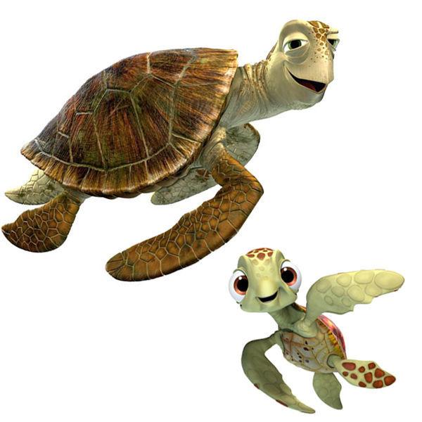 Y estás relajadas tortugas, ¿Quienes son?
