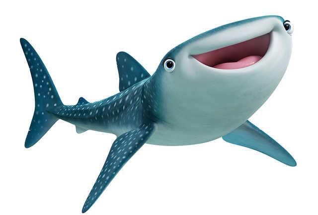 Y esta simpática pez, ¿Quien es?