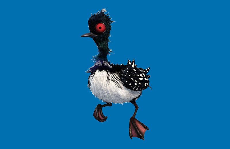 ¡Este pájaro esta muy loco! O más bien, pájara... ¿Sabes quien es?