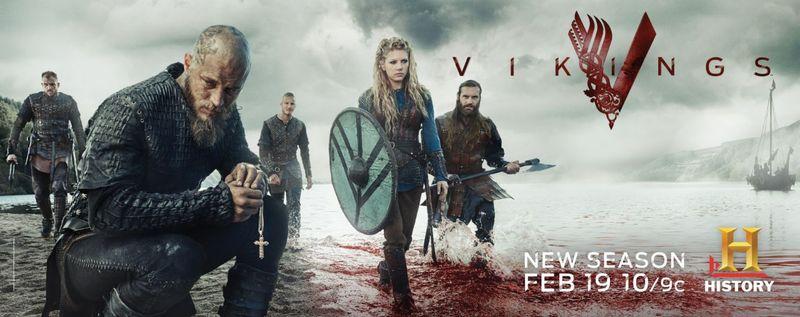 Estás con tu pandilla y sale el tema de la serie Vikings. Tú...