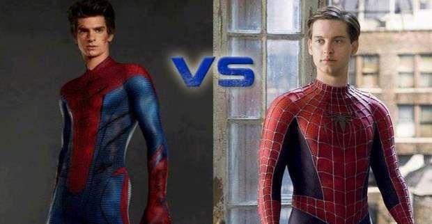 ¿Prefieres al spiderman que estaba un poco ''regordete'' o al que todos conocemos que es flaco?