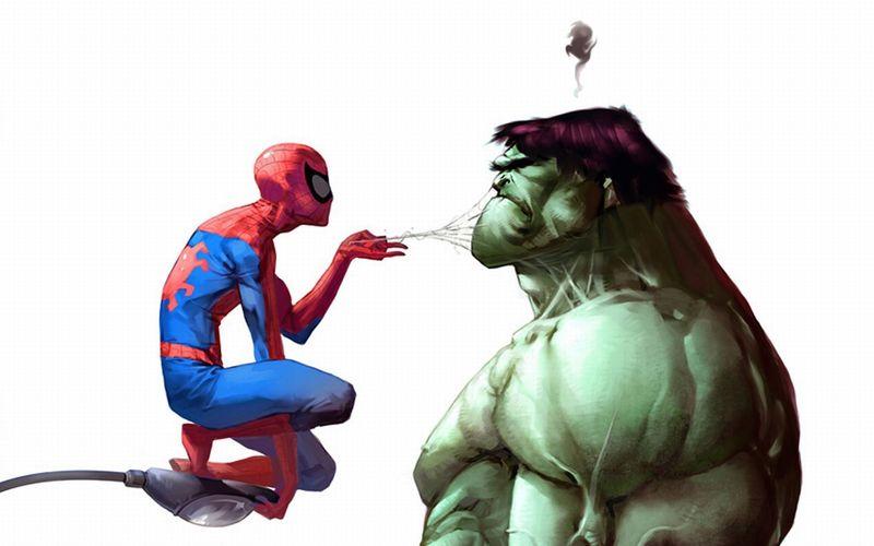 ¿Prefieres un spiderman algo gracioso o uno MEGAgracioso?