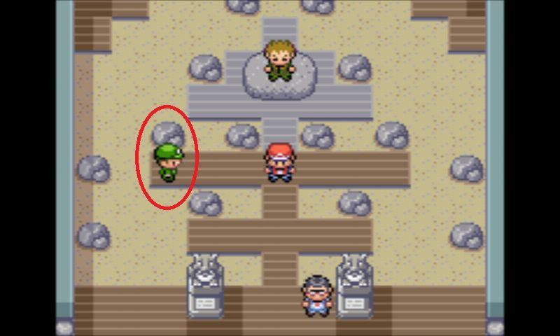 ¿Cuáles son los pokémon que tiene este campista?