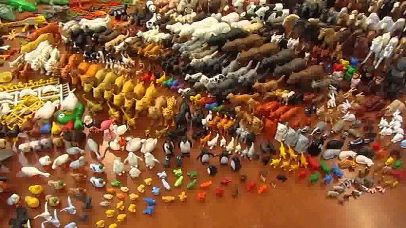 Medio: Vamos a dificultar las cosas: Aprox, ¿Cuántas especies animales tiene Playmobil?