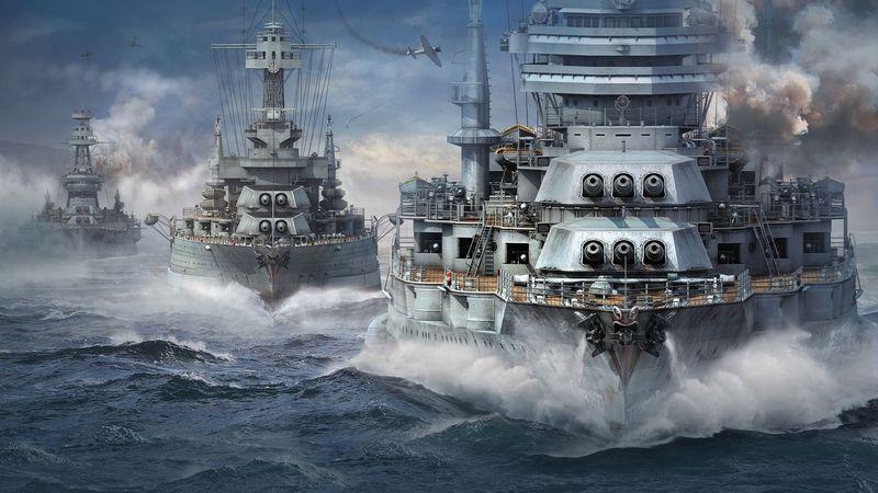 21842 - Barcos de World of Warships, ¿los reconoces?